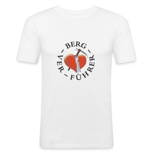 T- Shirt groß - Männer Slim Fit T-Shirt