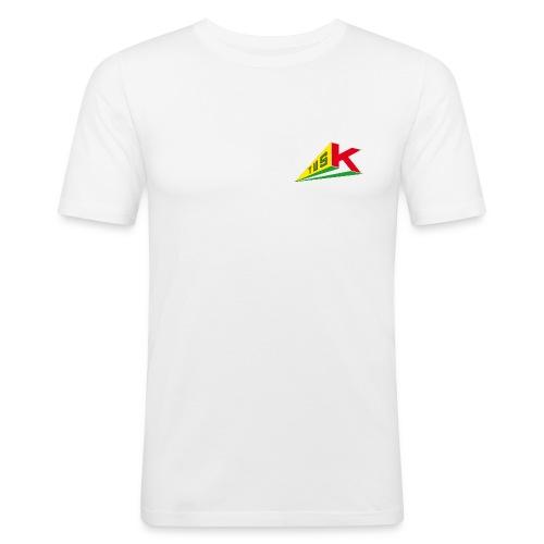 MATK weiß - Männer Slim Fit T-Shirt