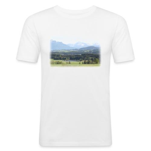 """Landschaft """"Unser Platz"""" - Männer Slim Fit T-Shirt"""