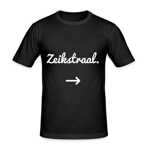 Man - Zeikstraal - slim fit T-shirt