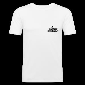 Ischgl Ischgeil Skifahrer Slim Fit T-Shirt - Männer Slim Fit T-Shirt