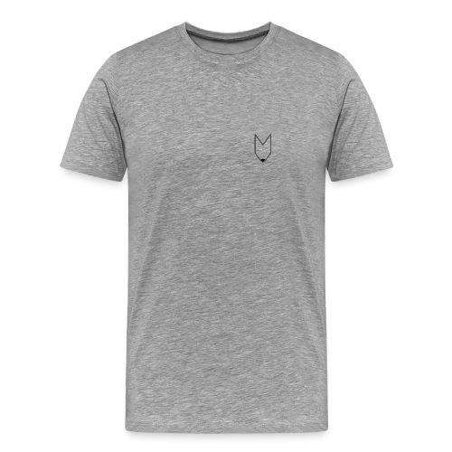 DorFuchs Logo (Männer) - Männer Premium T-Shirt