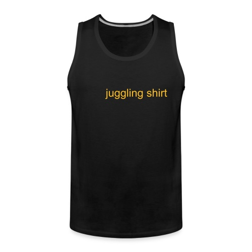 juggling shirt classic (tanker) - Men's Premium Tank Top