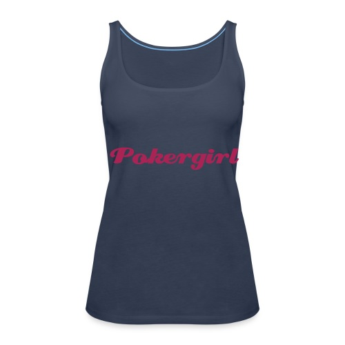 Poker Girl - Frauen Premium Tank Top