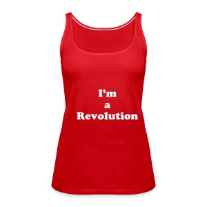 Revolution Top (Red) - Women's Premium Tank Top