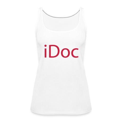 iDoc TankTop red - Frauen Premium Tank Top