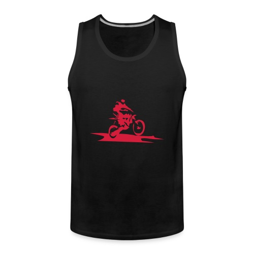 Biker-Motiv auf Tank Top - Männer Premium Tank Top