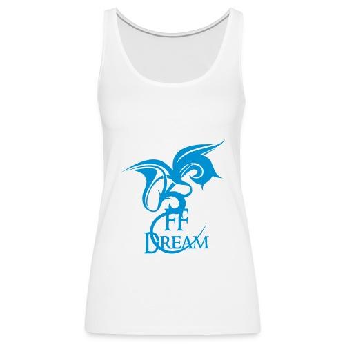 FFDream - logo bleu clair - Débardeur Premium Femme