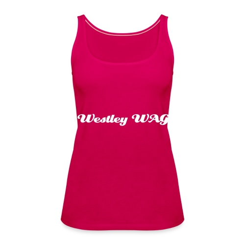 wag's summer top - Women's Premium Tank Top