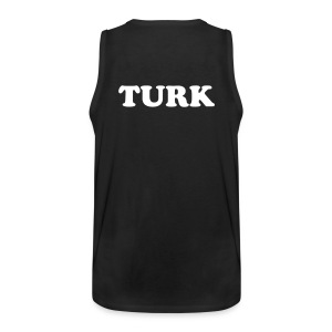 TURK TANK TOP (BLACK) - Men's Premium Tank Top