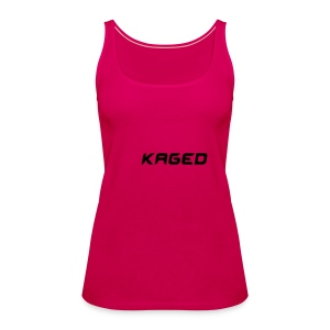 Pink spaghetti top - KAGED - Women's Premium Tank Top