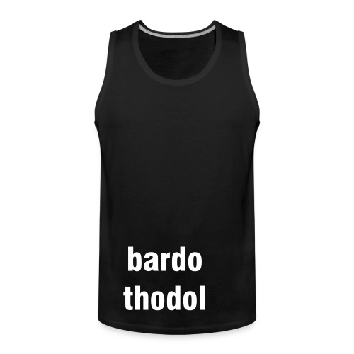 bardo thodol tank/dress - Men's Premium Tank Top