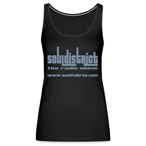 Débardeur Girls Soul District noir/argent - Débardeur Premium Femme