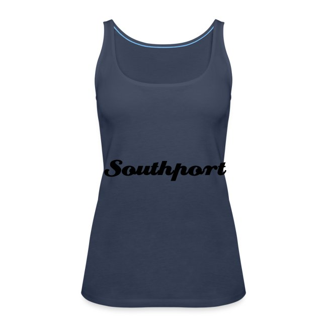 Southport Strappy Top Blue