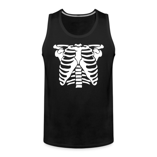 Brustkorb - black muscle - Männer Premium Tank Top