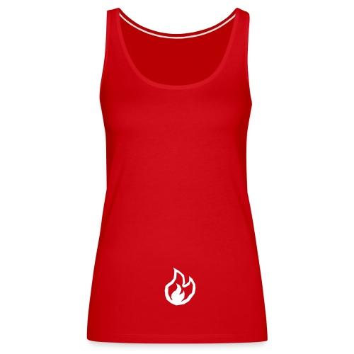 Flame - Frauen Premium Tank Top