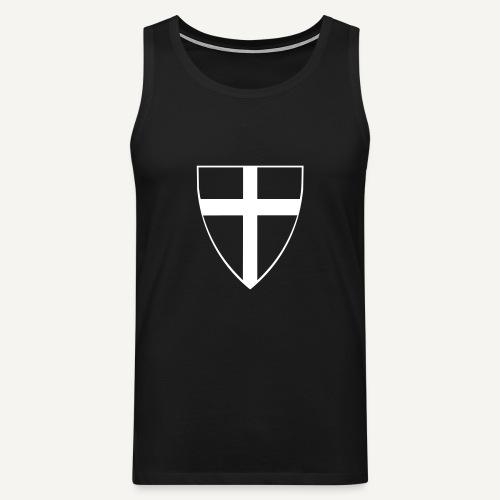 Koszulka krzyżacka 13 - Tank top męski Premium