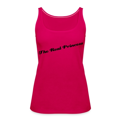 The real Princess - Frauen Premium Tank Top