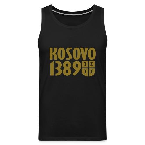 Majica Kosovo 1389 (Zlatna Boja) - Débardeur Premium Homme