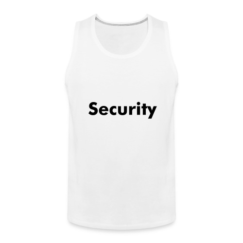 Security Vest - Men's Premium Tank Top