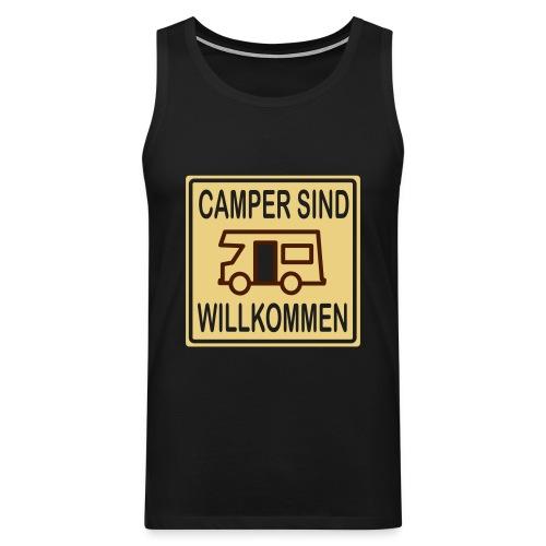Camper sind willkommen - Männer Premium Tank Top