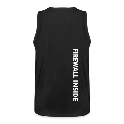 """FIREWALL INSIDE"" - Men's Premium Tank Top"