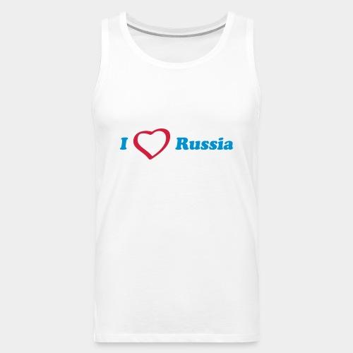 I love Russia - Männer Premium Tank Top