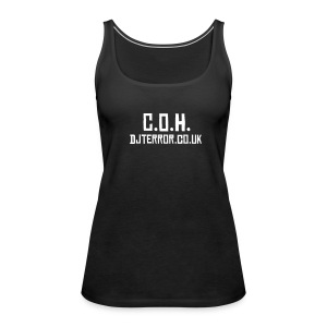 Coh ladies vest top - Women's Premium Tank Top