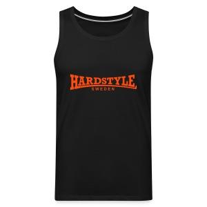 Hardstyle Sweden - Neonorange - Flera tröjfärger - Premiumtanktopp herr