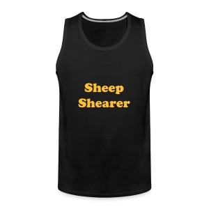 Shearing top - Men's Premium Tank Top