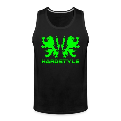 Hardstyle Lions - Neongreen - Men's Premium Tank Top
