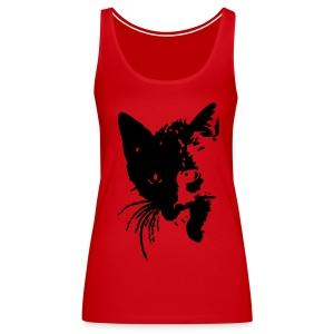 Black Cat - Frauen Premium Tank Top
