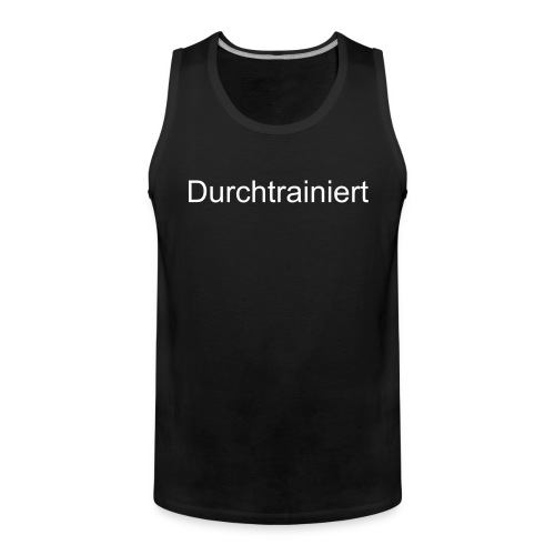 trained - Männer Premium Tank Top
