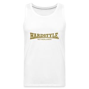 Hardstyle Netherlands - Gold - Men's Premium Tank Top