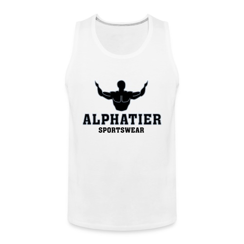 ALPHATIER Sportswear Muskelshirt CLASSIC - Männer Premium Tank Top