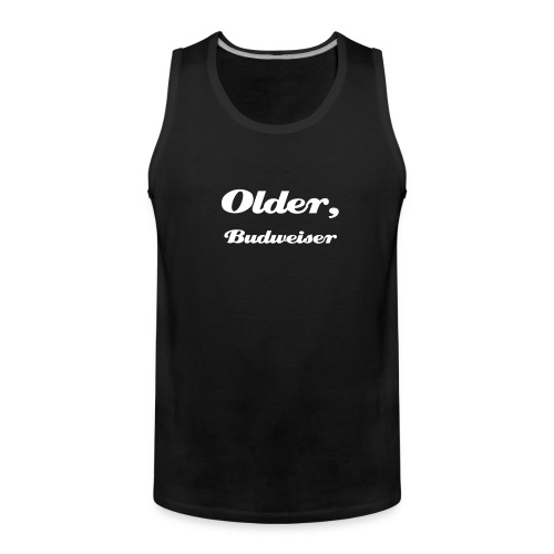 Older but wiser - Männer Premium Tank Top