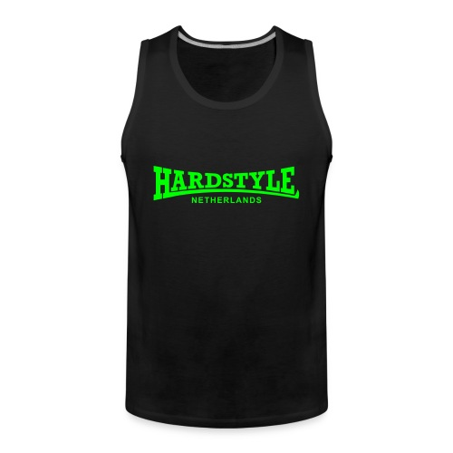 Hardstyle Netherlands - Neongreen - Men's Premium Tank Top