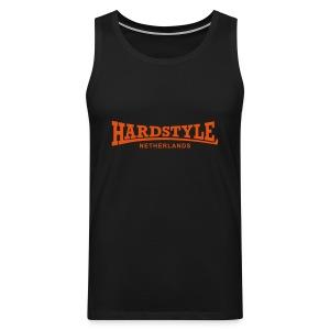 Hardstyle Netherlands - Neonorange - Men's Premium Tank Top
