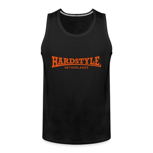 Hardstyle Netherlands - Neonorange - Men's Premium Tank Top