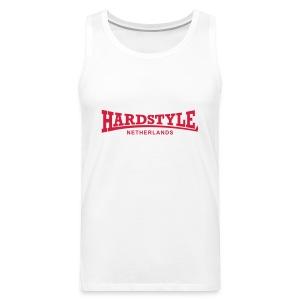 Hardstyle Netherlands - Red - Men's Premium Tank Top