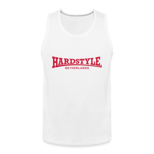 Hardstyle Netherlands - Red - Men's Premium Tank Top