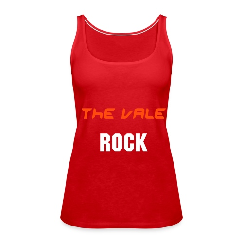 The Vale Rock - Ladies Spaghetti Top - Women's Premium Tank Top
