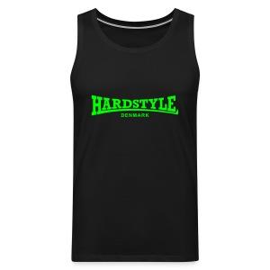 Hardstyle Denmark - Neongreen - Men's Premium Tank Top