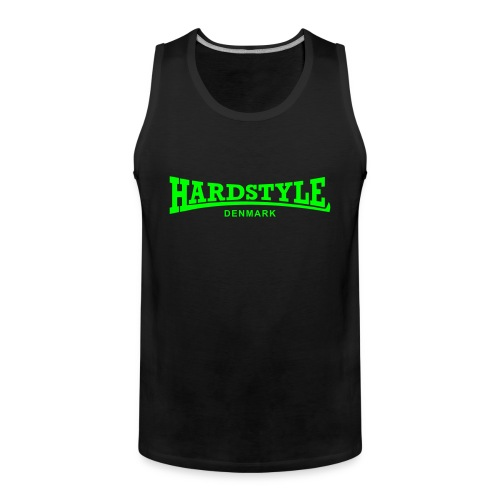 Hardstyle Denmark - Neongreen - Men's Premium Tank Top