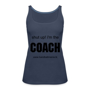 i'm coach woman - Women's Premium Tank Top