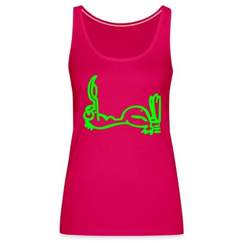 Silly Duck Vest ill - Frauen Premium Tank Top