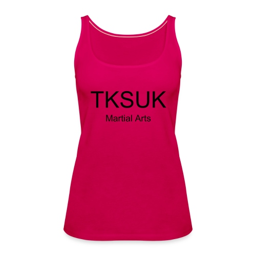 Pink Training Vest - Women's Premium Tank Top