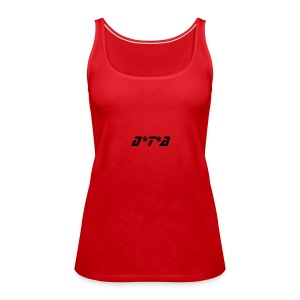Girls DTA Top (Red) - Women's Premium Tank Top