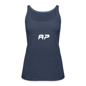 AP Womens top blue - Women's Premium Tank Top