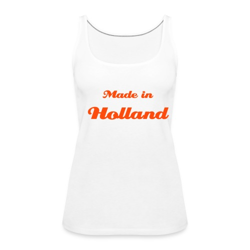 Made in Holland - Vrouwen Premium tank top